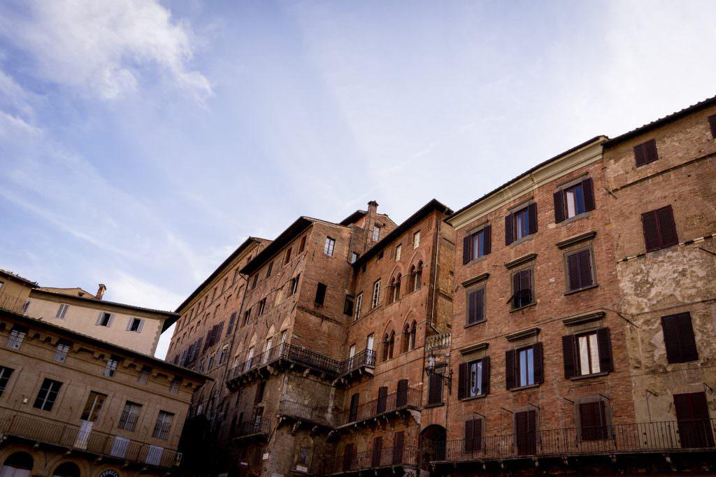 Häuser in Siena