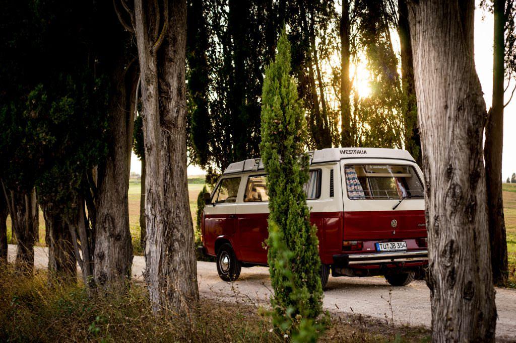 Willi fährt durch die Toskana